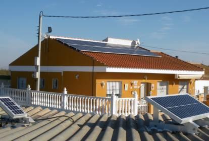 sistema de bombeo solar en Tornadijo