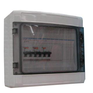 Cuadro de protecciones magnetotérmicas y diferenciales según RBT