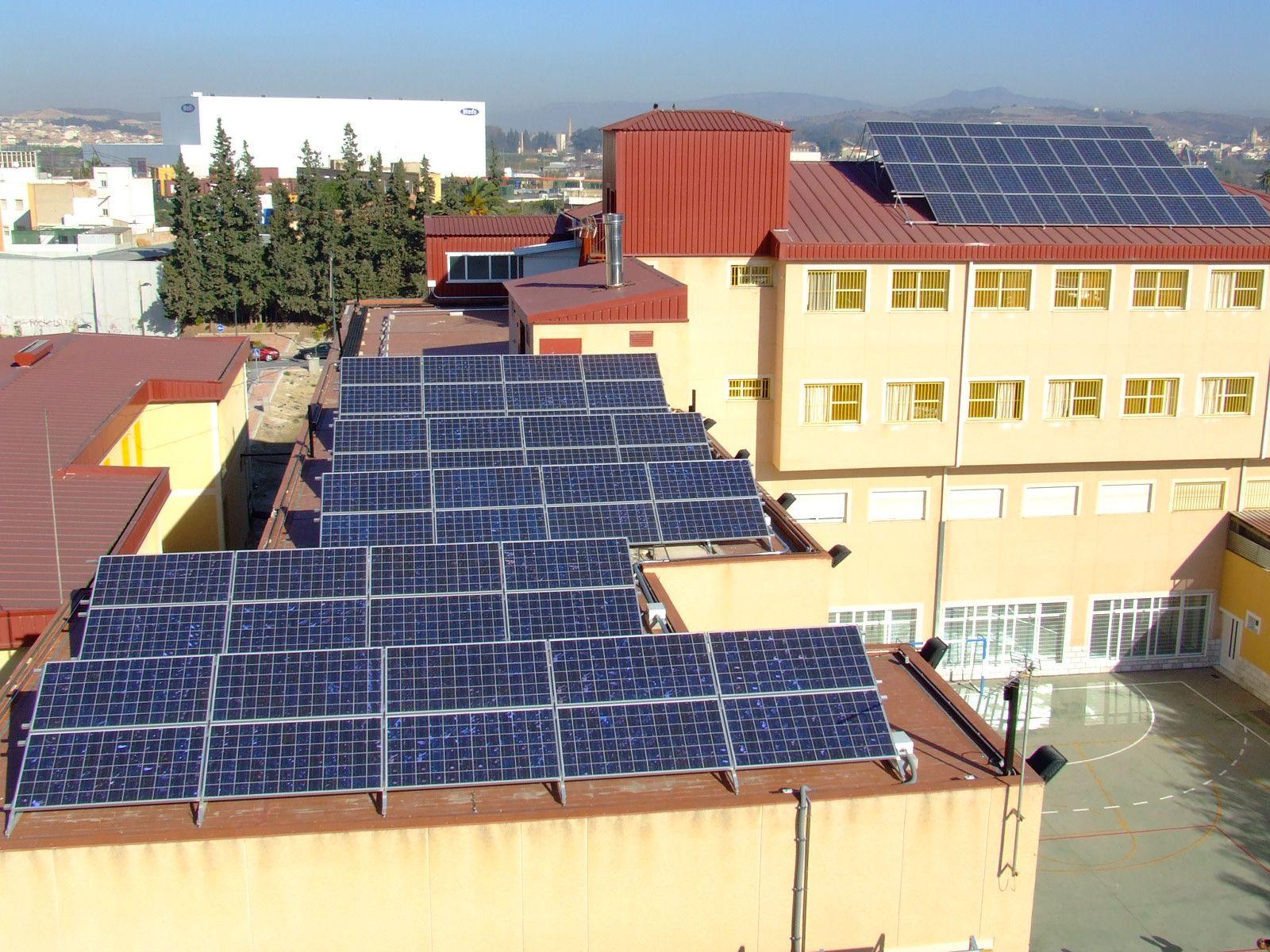 fotovoltaica colegio samaniego