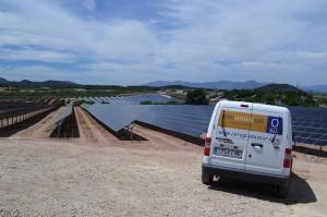 Instalación solar fotovoltaica terminada