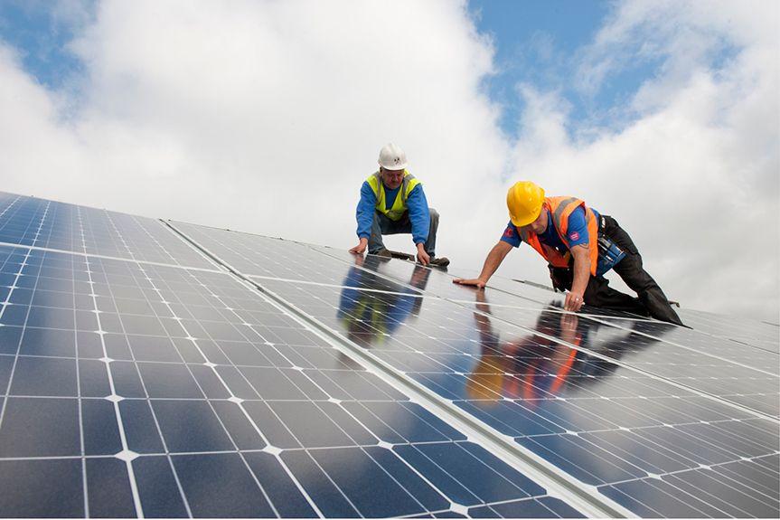 Mantenimiento de instalación fotovoltaica
