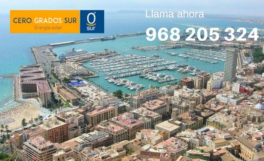 instaladores de placas solares en Alicante